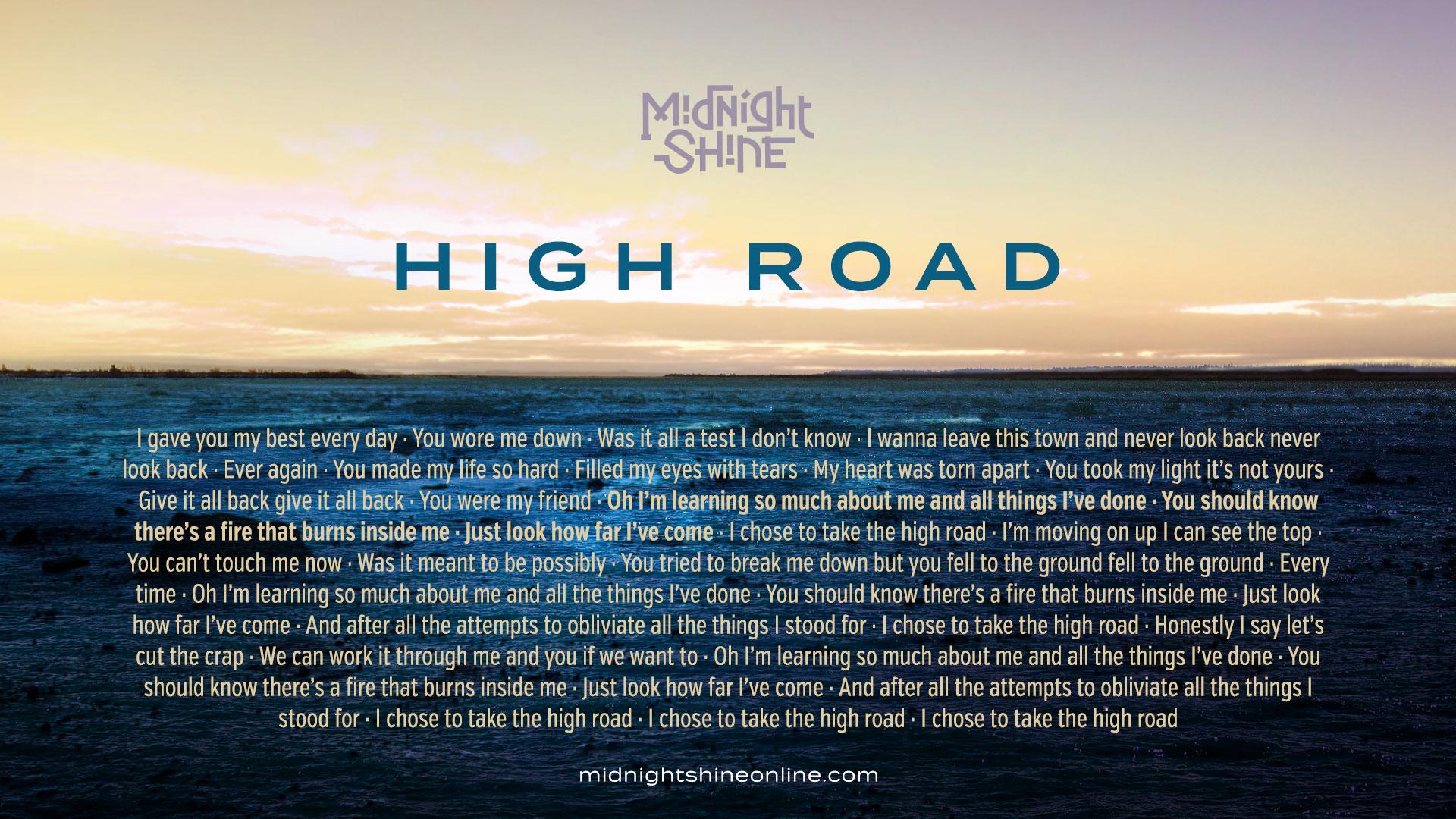 highroad-lyrics