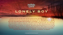 lonelyboy-lyrics